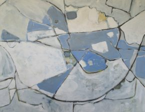 Map Picture - Dorchester Blue